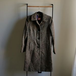 Miss Sixty Wool Coat SZ Medium
